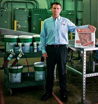 食品级润滑油用于面团厂